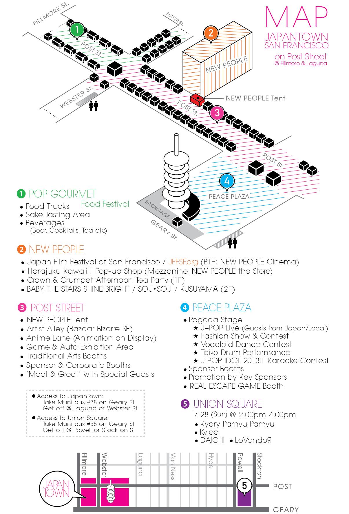 Festival Map 2013