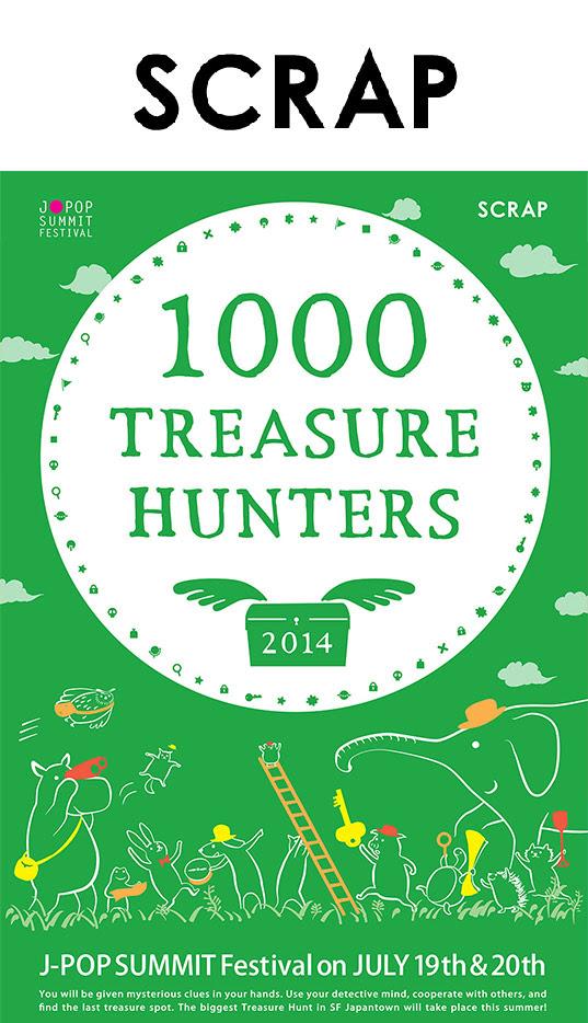 1000 Treasure hunters