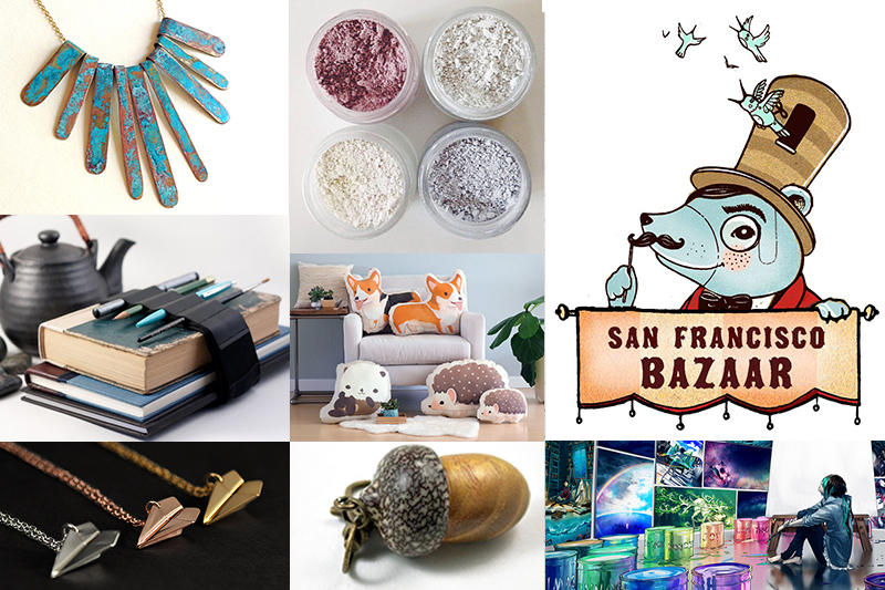 Artist Village by SF Bazaar is Open & Free Admission!