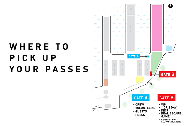 Where To Pick Up Your Passes