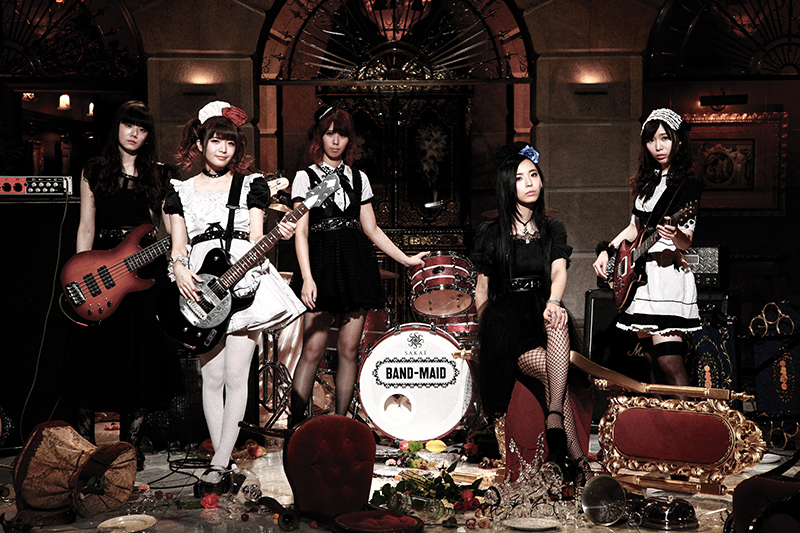 "BAND-MAID To ""Serve"" J-POP SUMMIT Fans!"
