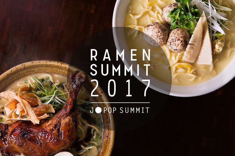 RAMEN SUMMIT Brings Choice Slurps To J-POP Crowd!