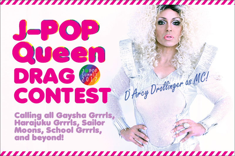 Fabulous J-POP QUEEN Drag Contest  Is ON Again!